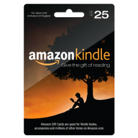 Amazon Kindle Gift Card $25