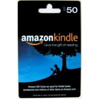 Amazon Kindle Gift Card $50