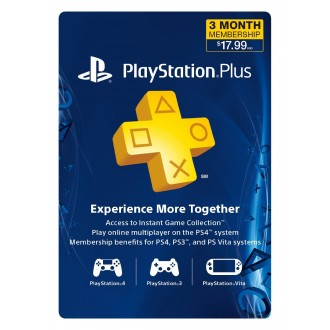 PlayStation PLUS Membership 3 Month