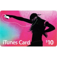APPLE ITUNES GIFT CARD $10