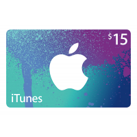 APPLE ITUNES GIFT CARD $15