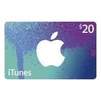 APPLE ITUNES GIFT CARD $20