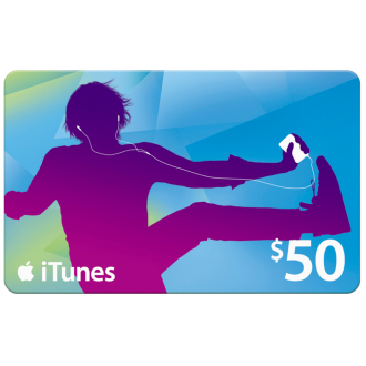 APPLE ITUNES GIFT CARD $50