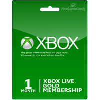 XBOX GIFT CARD 1 Month