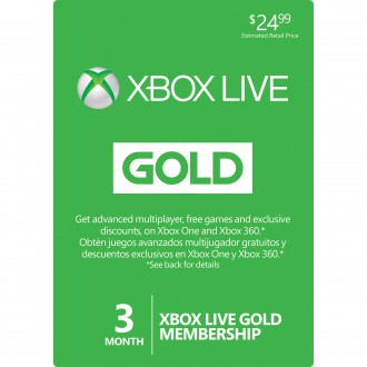 XBOX GIFT CARD 3 Month