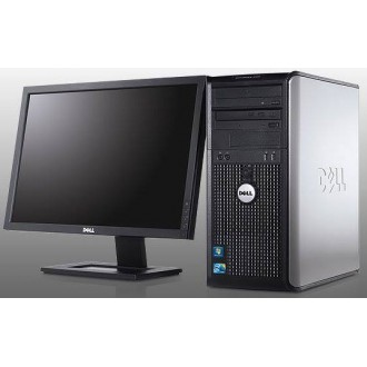"Desktop - Dell Optilex 380 + Dell 19"" monitor used"