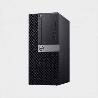 Dell Optiplex 7060MT i7-8700, 8GB DDR4 2666MHz, 1TB SATA HDD , AMD Radeon RX550 4GB, DVDRW