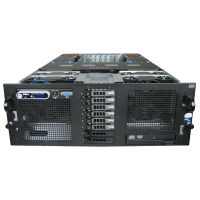 Dell Poweredge R900 server 4x QC 2.1GHz E7430 128GB RAM 5x 73GB SAS 10K PERC/6i - used