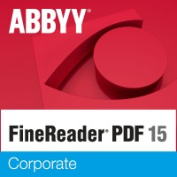 ABBYY FineReader PDF 15 Corporates- 1 year (Standalone) license