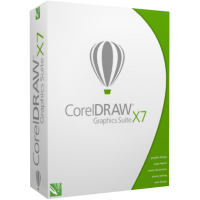 CorelDRAW  X7 Graphics Suite Full Retail Box for Windows - 1 user license