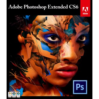 Adobe  Photoshop CS6 Extended - 1 user license