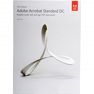 Adobe Acrobat Standard DC - 1 user license