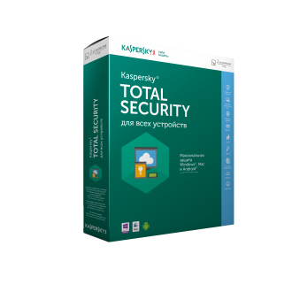 Kaspersky Total Security - Multi Device 2016 - 2 төхөөрөмж / 1 жил
