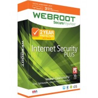 Webroot Internet Security Plus 2016 - 1 хэрэглэгч / 1жил