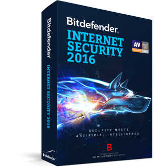 Bitdefender Internet Security 2016 - 1 хэрэглэгч / 1 жил