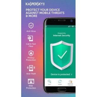 Kaspersky Internet Security for Android - 1-Mobile device 1 year Base License Pack