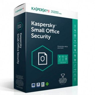 Kaspersky Small Office Security онлайн лиценз  - 5 сервер  / 1 жил