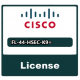 Cisco FL-44-HSEC-K9 license