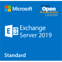 Microsoft Exchange server 2019 Standard SNGL LicSAPk OLP A Goverment license