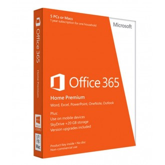 Microsoft Office 365 Home Prem 32/64 English
