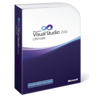 Microsoft Visual Studio 2010 Ultimate 1 user license
