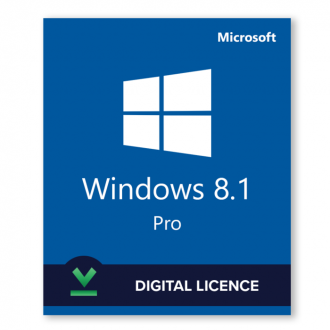 Windows 8.1 Professional - License 32 & 64 bit OEM license