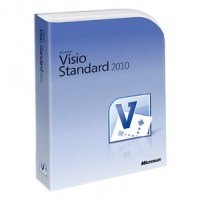 Microsoft Visio 2010 Standard - 1 pc OEM license 32 and 64 bit