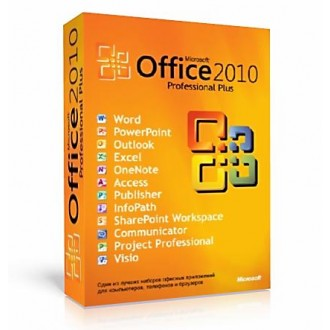 Microsoft Office 2010 Pro Plus 1 pc lifetime OEM license