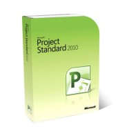 Microsoft Project 2010 Standard - 1 pc OEM lifetime license 32 and 64 bit