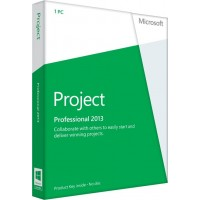 Microsoft Project 2013 Professional - 1 pc OEM lifetime license 32 and 64 bit