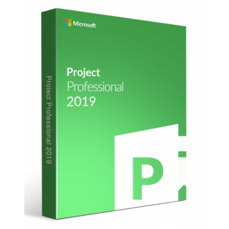 Microsoft Project 2019 Professional SNGL SA OLP NL license 32 and 64 bit