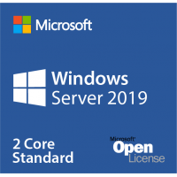 Windows Server 2019 Standard Sngl OLP NL license 2 core