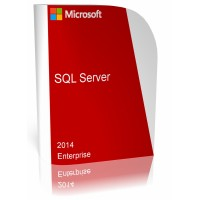 Microsoft SQL Server 2014 Enterprise - 32 core CPU - Unlimited CAL